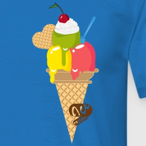 An ice cream cone Hoodies & Sweatshirts - Men's T-Shirt