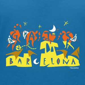 Bavero niño - Gatos Barcelona - Women's V-Neck T-Shirt