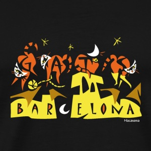 Art Bag Barcelona - Men's Premium T-Shirt