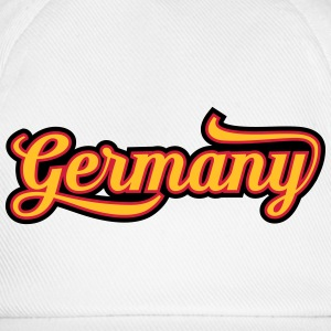 MD Typo Country Germany T-Shirts - Baseballkappe