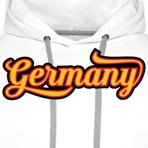 MD Typo Country Germany T-Shirts - Männer Premium Hoodie