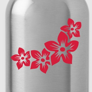 four flowers (1c) Tops - Water Bottle
