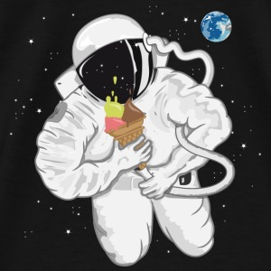 Astronaut with ice cream cone  Shirts - Men's Premium T-Shirt