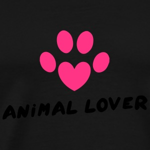 Animal Lover Sweaters - Mannen Premium T-shirt