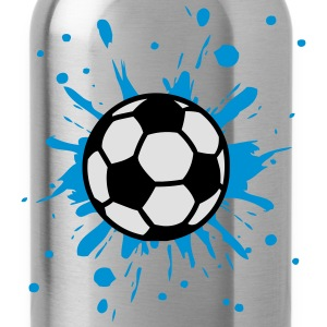 Football, Splash, Soccer, Splatter,  Tee shirts - Gourde