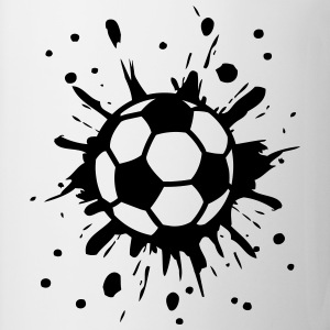 Football, Splash, Soccer, Splatter,  Tee shirts - Tasse