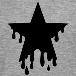 Star punk blood anarchy symbol revolution against T-shirts - Herre premium T-shirt med lange ærmer