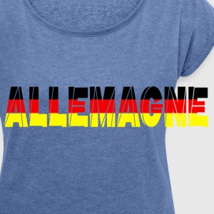 allemagne Bags & Backpacks - Women's T-shirt with rolled up sleeves