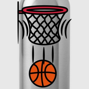 Basketball korb point T-Shirts - Trinkflasche