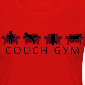 Couch gymnastique Tee shirts - T-shirt manches longues Premium Femme