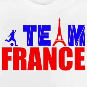 team france Camisetas - Camiseta bebé
