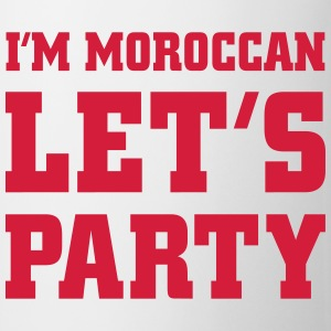 I'm Moroccan Let's Party, cairaart.com T-Shirts - Tasse