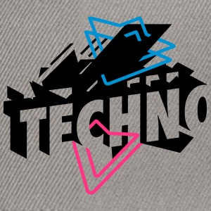 Techno Music Shirts - Snapback Cap