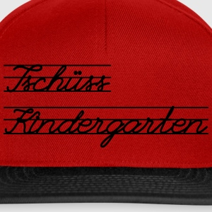 Bye Kindergarten Bags & Backpacks - Snapback Cap