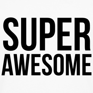 Super awesome  T-shirts - Herre premium T-shirt med lange ærmer