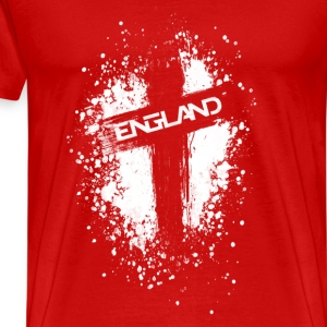 England Painted-White Sports wear - Men's Premium T-Shirt