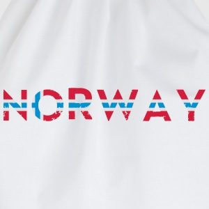 Norway Norwegen T-Shirts - Turnbeutel
