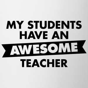 Awesome Teacher T-Shirts - Tasse