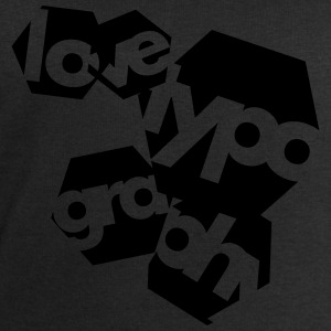 Love Typography T-Shirts - Men's Sweatshirt by Stanley & Stella