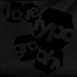 Love Typography T-Shirts - Kids' Backpack