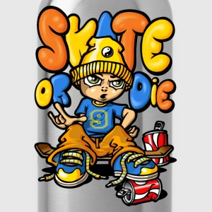 Skateboard and graffitis - Gourde