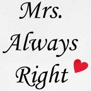 Mrs. Always Right Handy & Tablet Hüllen - Baseballkappe