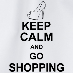 keep_calm_and_go_shopping_g1 Magliette - Sacca sportiva