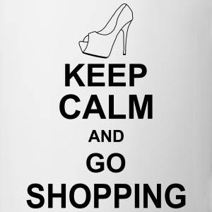 keep_calm_and_go_shopping_g1 Skjorter - Kopp