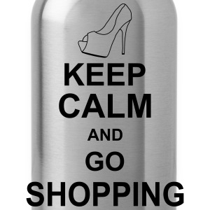 keep_calm_and_go_shopping_g1 Paraply - Vattenflaska