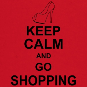 keep_calm_and_go_shopping_g1 Paraply - Langarmet baby-T-skjorte