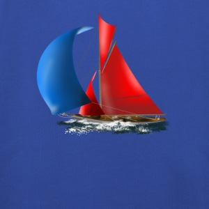 sailboat T-shirts - Premium-Luvtröja barn