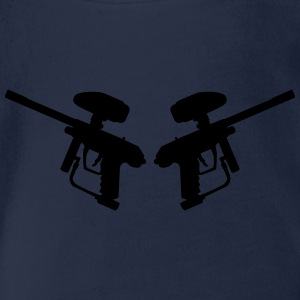 Paintball T-Shirts - Baby Bio-Kurzarm-Body