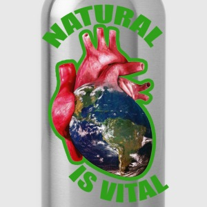 natural is vital Tee shirts - Gourde