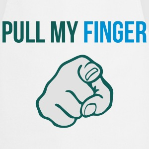 Pull my finger T-Shirts - Cooking Apron