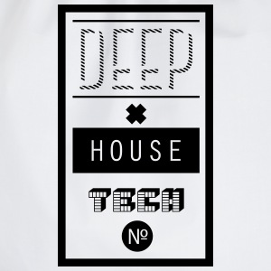 Deep House Techno Pullover & Hoodies - Turnbeutel
