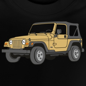 Jeep Wrangler 4WD 4x4 Offroad Desert T-Shirts - Baby T-Shirt
