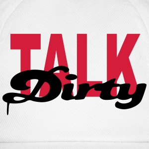 dirty girl - Baseballkappe
