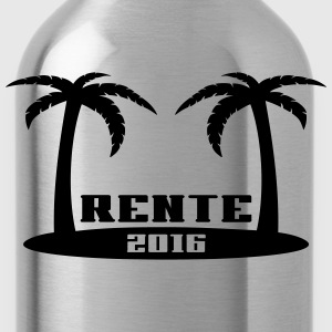 Rente Pension Ruhestand 2016 T-Shirts - Trinkflasche