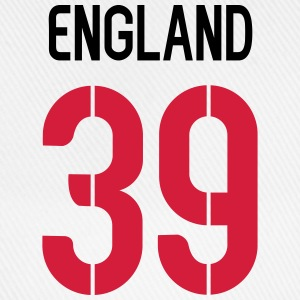 39, England, Football, Back Number,cairaart.com T-Shirts - Baseball Cap