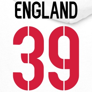 39, England, Football, Back Number,cairaart.com T-Shirts - Men's Premium Hoodie