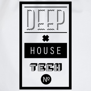 Deep House Techno Langarmshirts - Turnbeutel