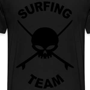 surfing team Sweat-shirts - T-shirt Premium Homme