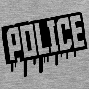 Police Graffiti Stempel Tee shirts - T-shirt manches longues Premium Homme