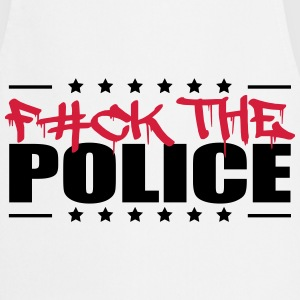 Logo Design Fuck The Police T-Shirts - Cooking Apron