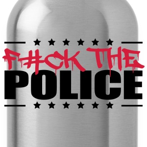 Logo Design Fuck The Police T-Shirts - Water Bottle