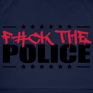 Logo Design Fuck The Police T-Shirts - Baseball Cap