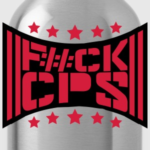 Cool Fuck CPS politie Logo T-shirts - Drinkfles