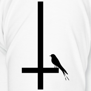 swallow on inverted cross - Men's Premium T-Shirt