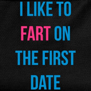 i like to fart on the first date Tee shirts - Sac à dos Enfant
