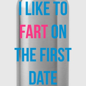 i like to fart on the first date Tee shirts - Gourde